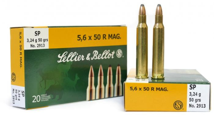5,6 × 50 R Mag. SP 3,24 g - Sellier & Bellot