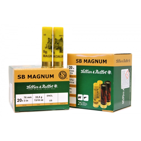 20 x 76 Magnum - Sellier&Bellot