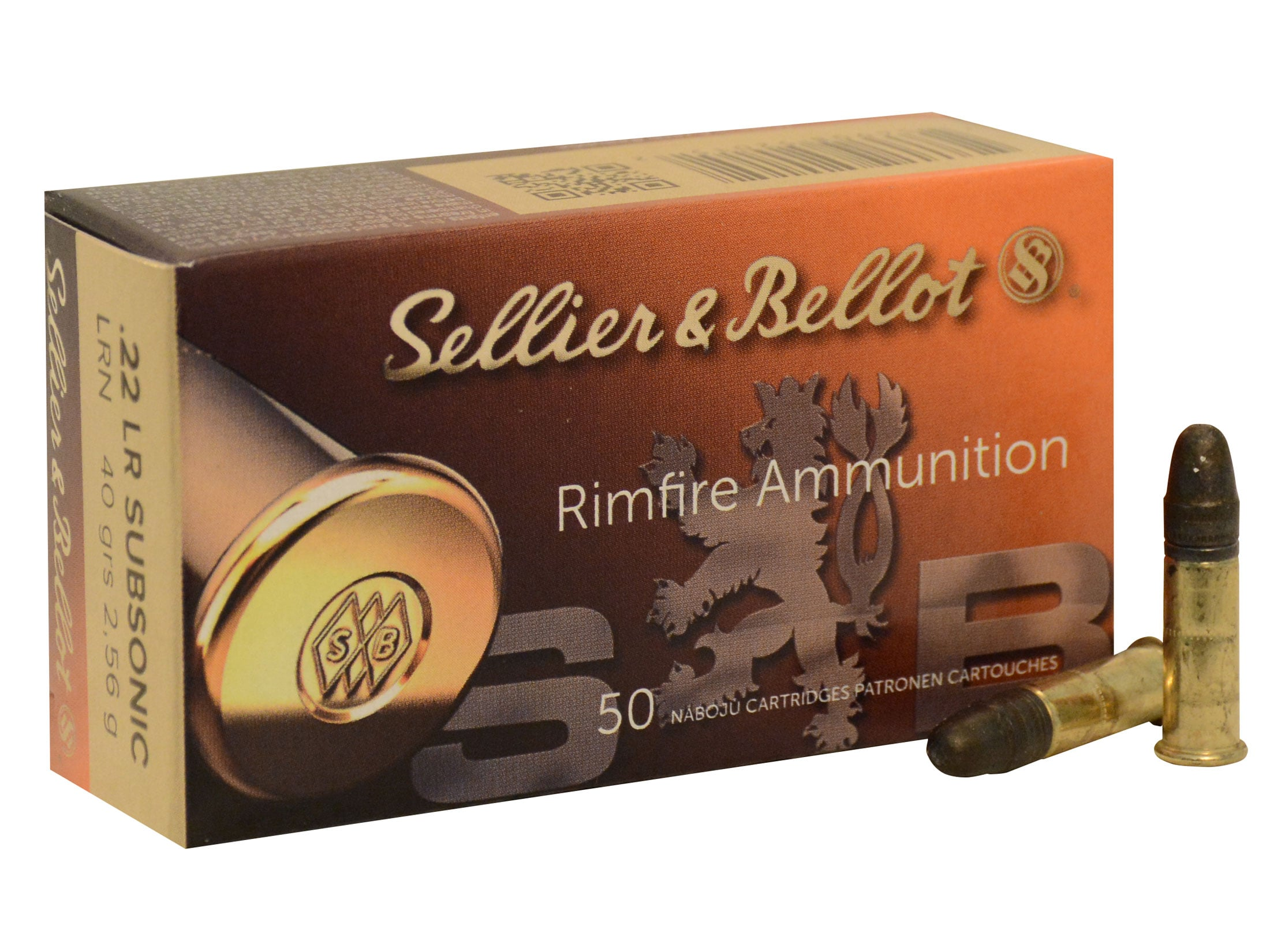 .22 LR Subsonic - Sellier & Bellot