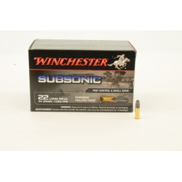 22 LR Winchester Subsonic HP - 40gr.