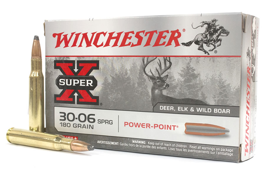 30 - 06 Spr. Winchester Power Point - 11,6 g