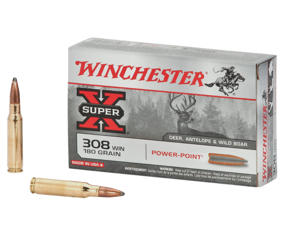 308 Win. Winchester PowerPoint 11,7 g