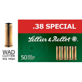 .38 Special WC 9,6 g - Sellier & Bellot