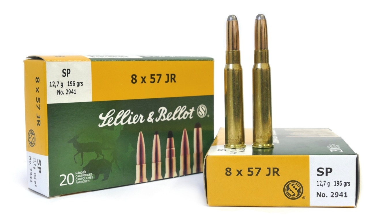8 x 57 JR SP 12,7 g - Sellier&Bellot
