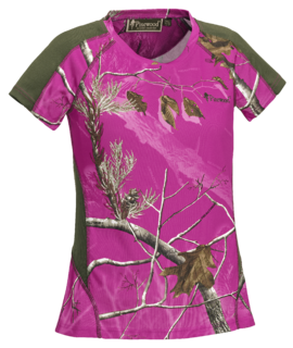 tričko Ramsey Coolmax Camouflage Hot pink - Pinewood