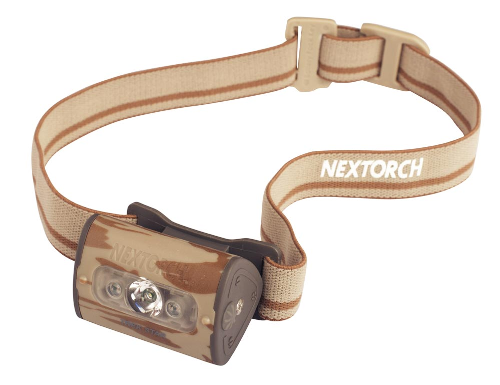 čelovka Trek Star Camo - NexTorch