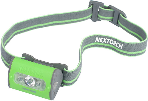 čelovka Trek Star green - NexTorch