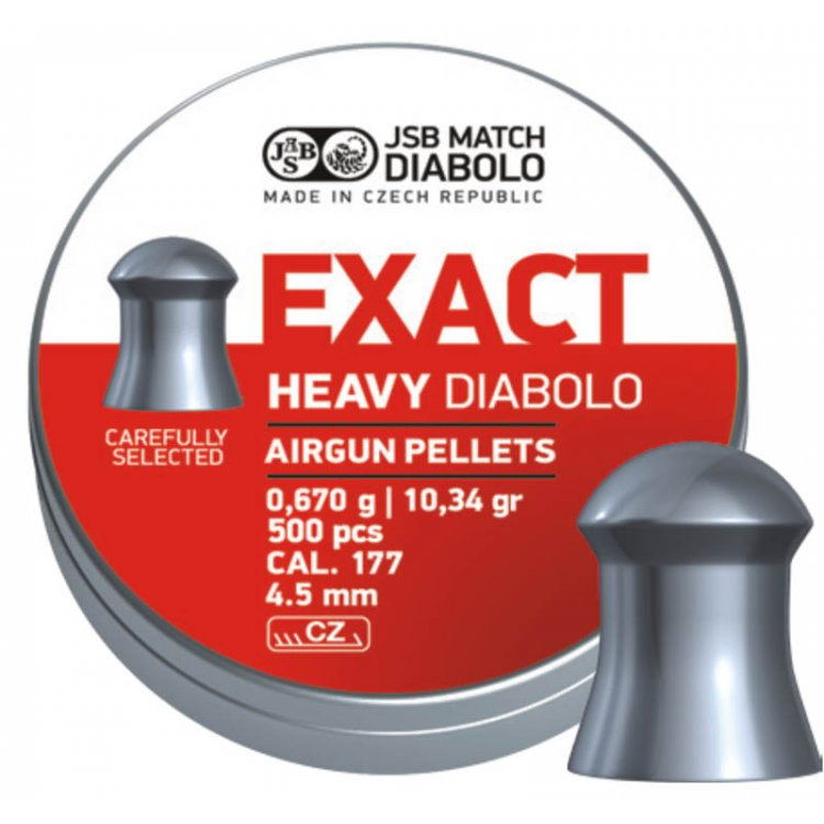 diabolo JSB Exact Heavy 4,5 mm