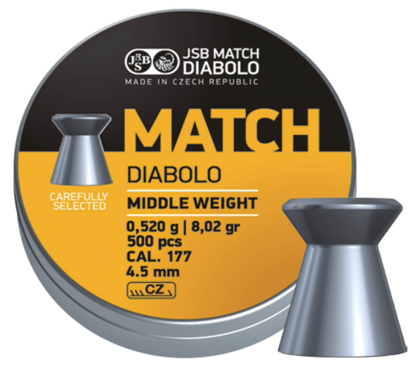 diabolo JSM Match Middle Weight 4,51 mm