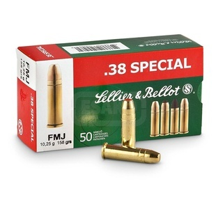 38 SPECIAL - FMJ Sellier & Bellot