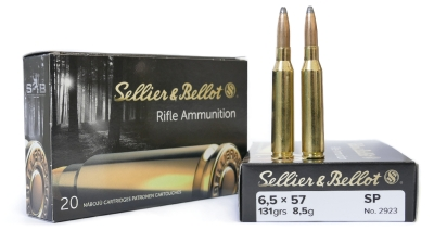 6,5 x 57 SP 8,5 g - Sellier & Bellot