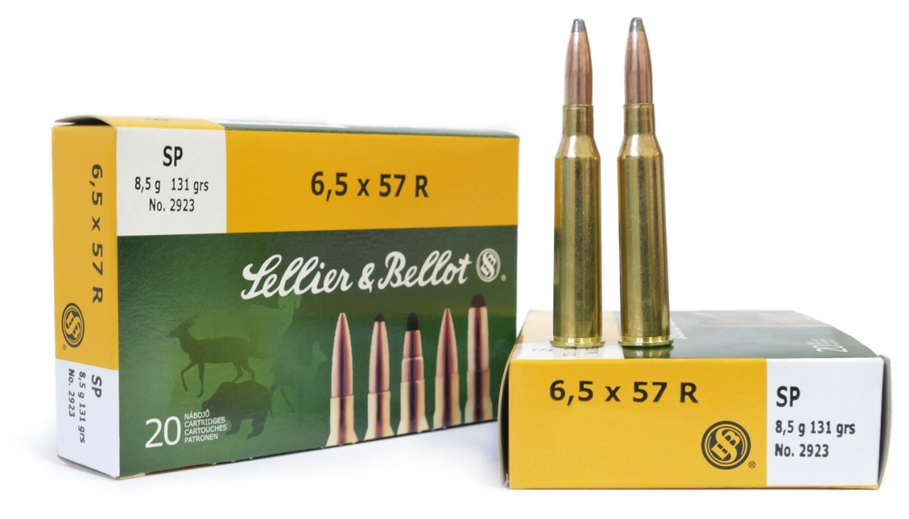 6,5 x 57 R SP 8,5g - Sellier & Bellot