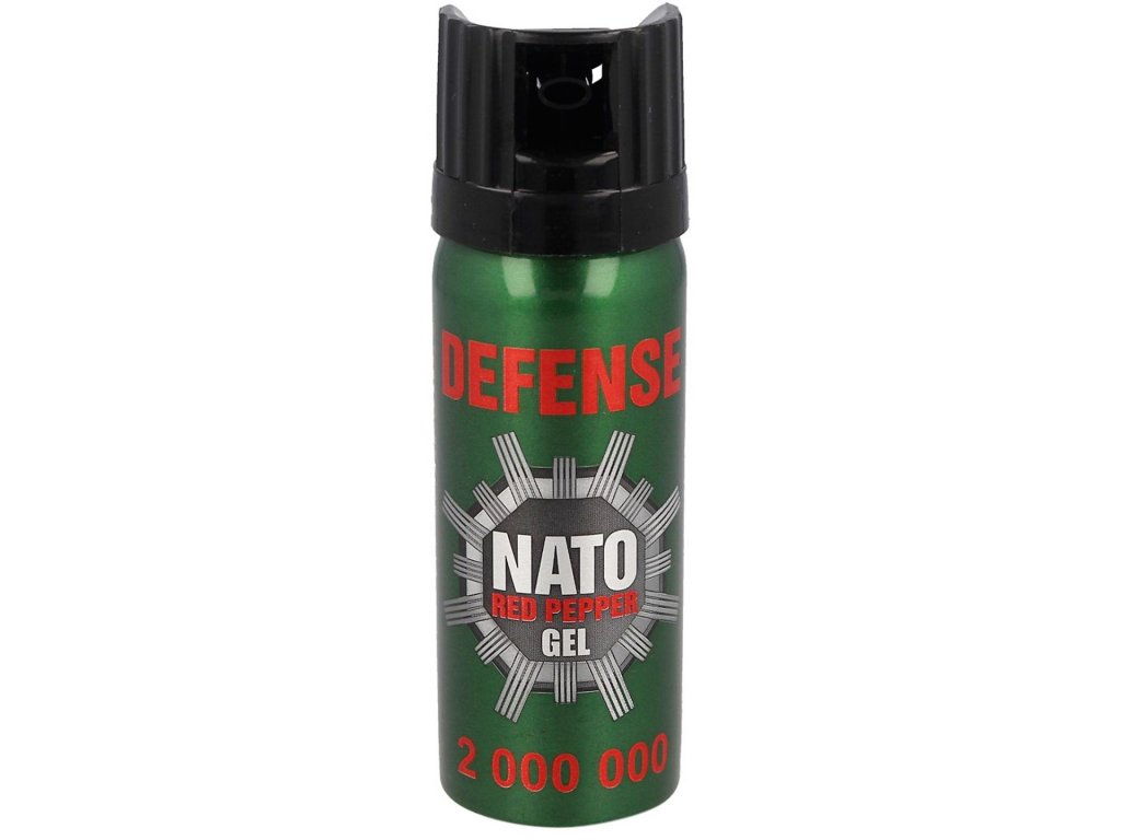 pepřový sprej Defense Nato Red Pepper Gel 2000000