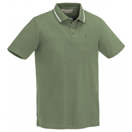 tričko Polo Outdoor life Ladies Mid Green - Pinewood